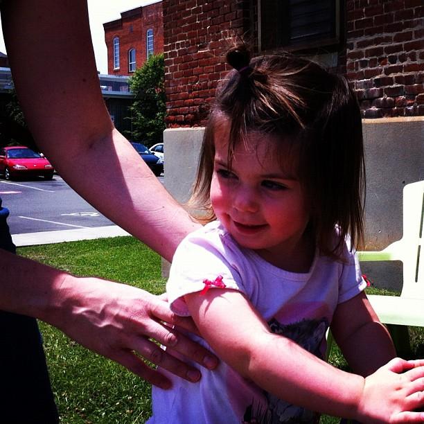 She's 2!